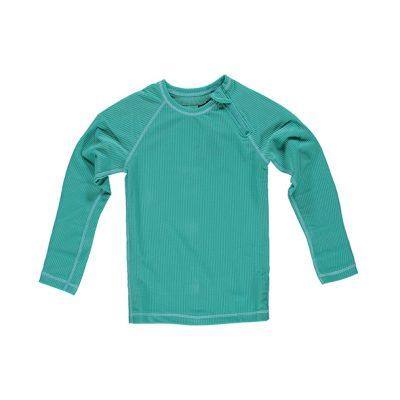 חולצת בגד ים טורקיז לילדים