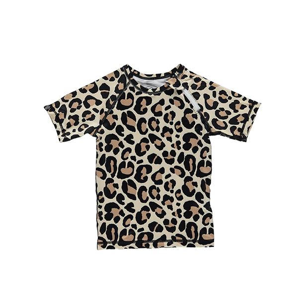 חולצת בגד ים מנומרת לילדים ותינוקות
