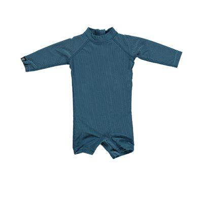 אוברול בגד ים כחול ארוך לילדים
