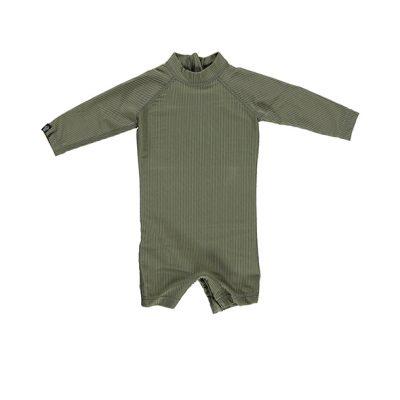 אוברול בגד ים ירוק לתינוקות
