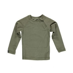 חולצת בגד ים ירוקה לילדים