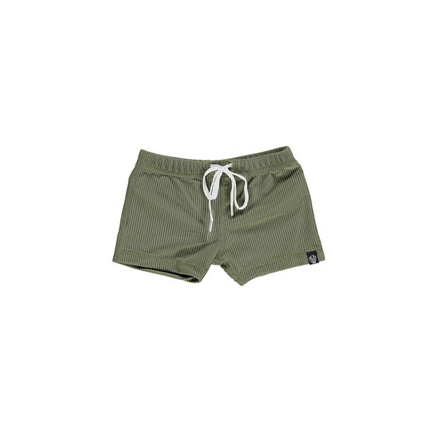 מכנס בגד ים לילדים ירוק
