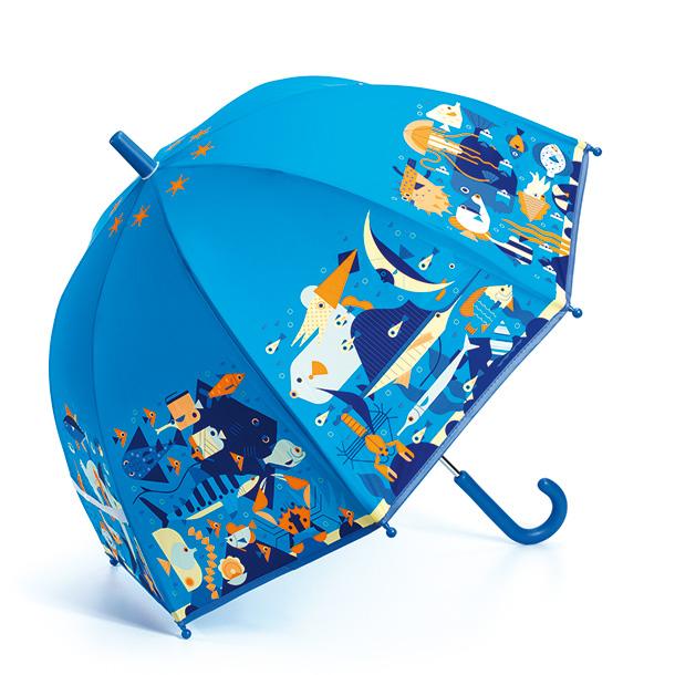 מטריה לילדים בצבע כחול