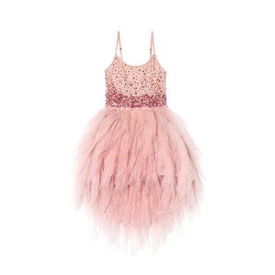 שמלת בת מצווה טוטו ורוד