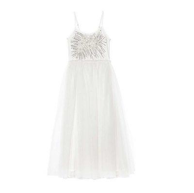 שמלה לבנה חגיגית ומיוחדת