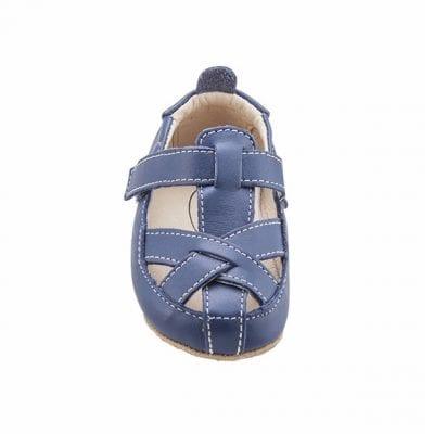 נעלי צעד ראשון לפעוטות בצבע כחול
