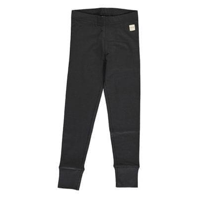 מכנסיים בגזרת טייץ שחורים לילדים