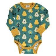 בגד גוף ארוך מאוייר לתינוקות ופעוטות