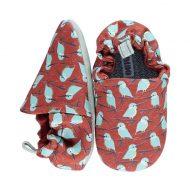 נעל עשוייה בד סולייה רכה לתינוק