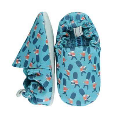 נעליים לתינוקות לחורף בצבע תכלת