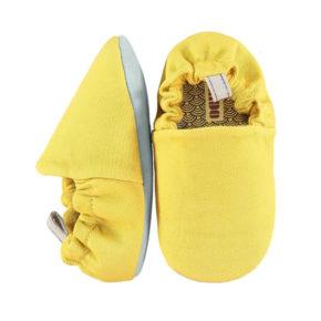 נעליים ראשונות לתינוק בצבע צהוב