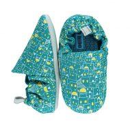 נעלי טרום הליכה בצבע תורכיז