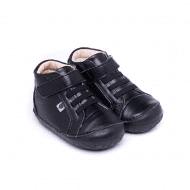 נעליים גבוהות שחורות לתינוקות