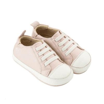 נעליים נמוכות ורודות לתינוקות