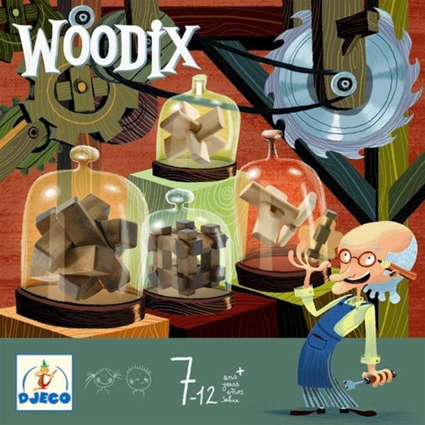 משחק חשיבה לילדים מעץ של Djeco