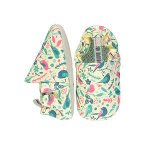 נעליים רכות לתינוק עם הדפס