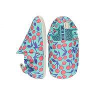 נעליים רכות לתינוק בצבע טורקיז