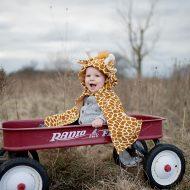 תחפושת ג׳ירפה לתינוקות