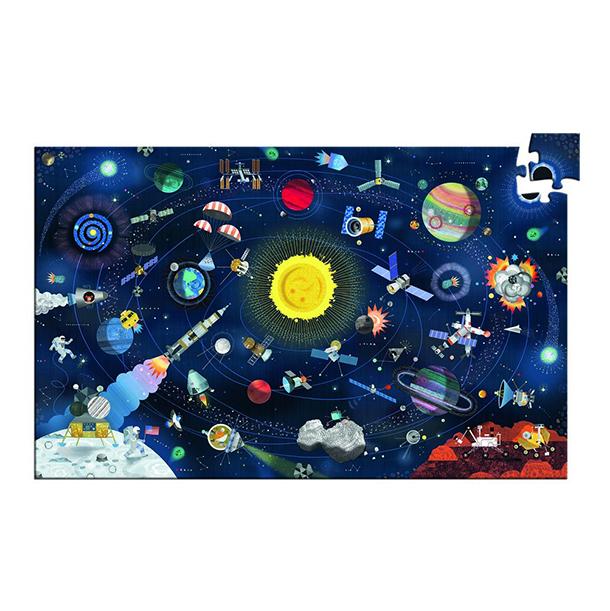 פאזל 200 חלקים בנושא חלל